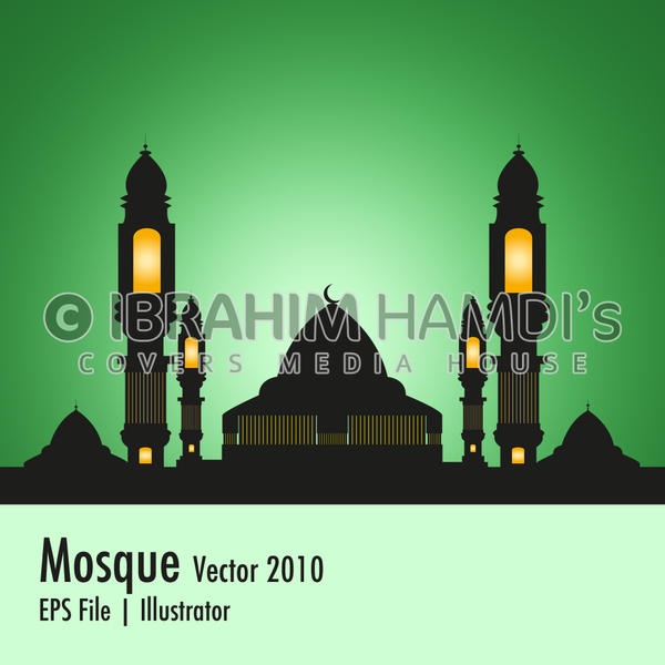Mosque vector 2010 by adriano-designs