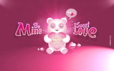 Happy Valentine Day 2012 Wallpaper by adriano-designs