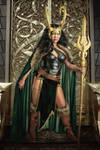 Lady Loki Cosplay by Rowan Rayne