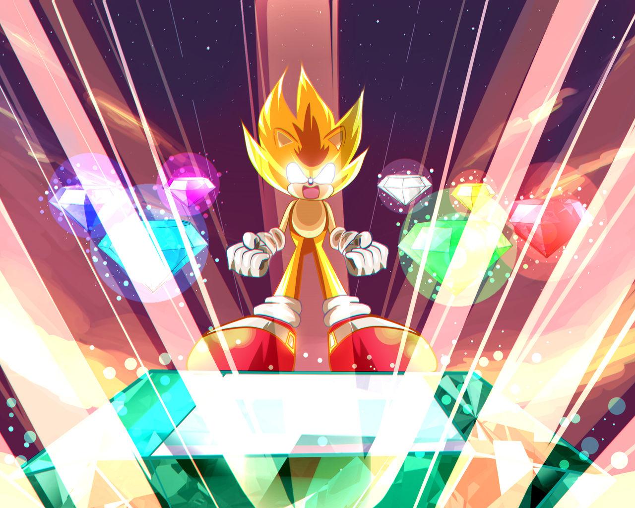Super Sonic Fanart By Jonnisalazar On Deviantart