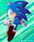 Classic Sonic Fanart ( Character Edition)