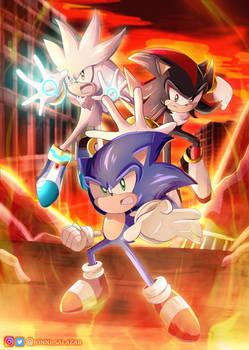 Sonic The Hedgehog 2006 Fan art!
