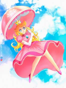 Princess Peach Fan Art
