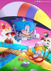 Sonic 2 Game gear Artbox Fan Art by jonnisalazar