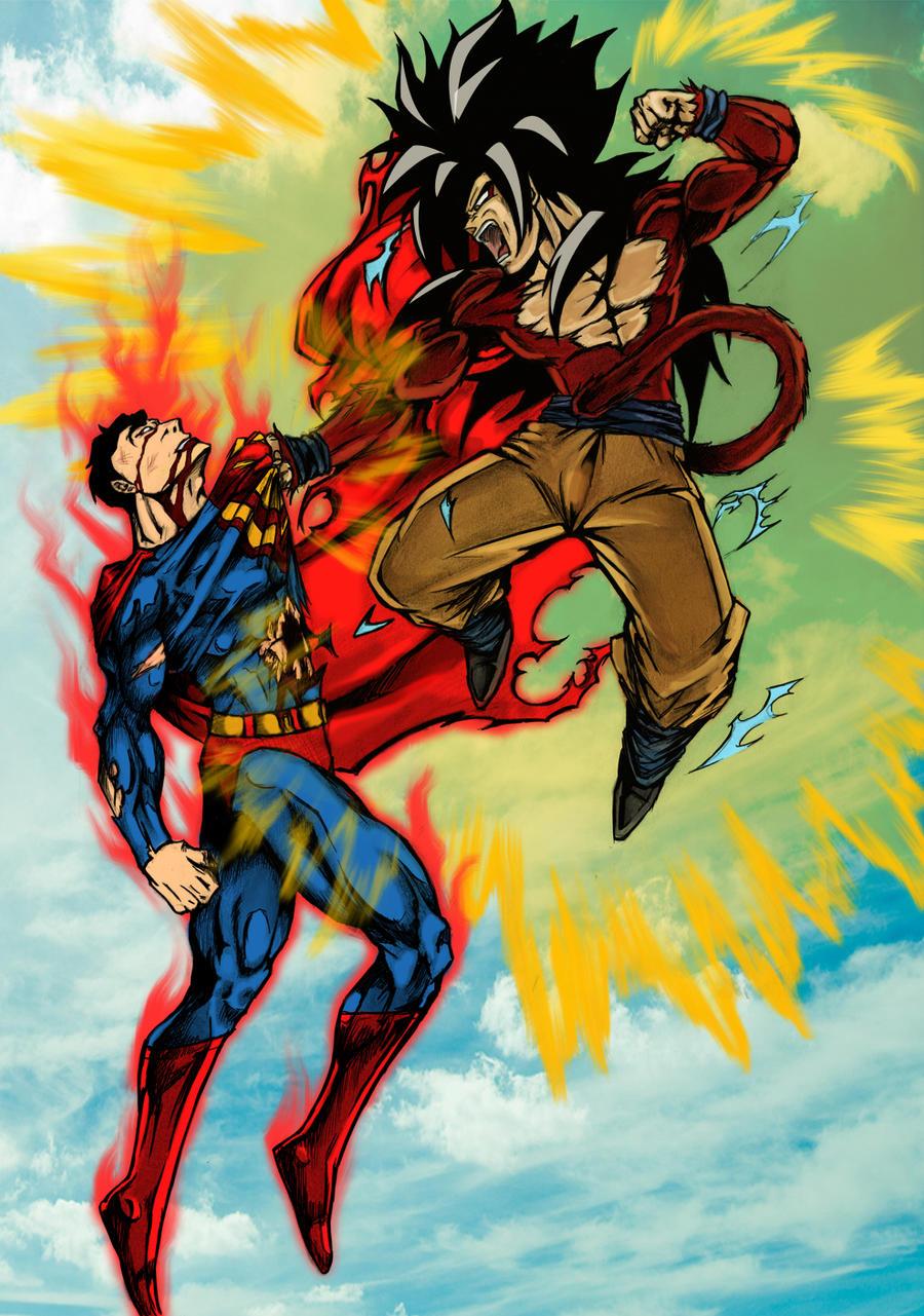 goku ssj3 vs superman - photo #6
