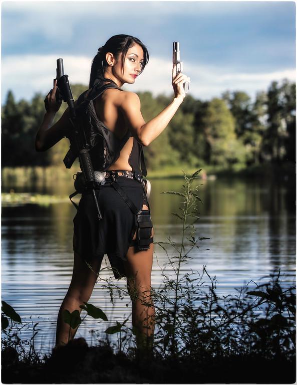 Lara Croft by Ivy95