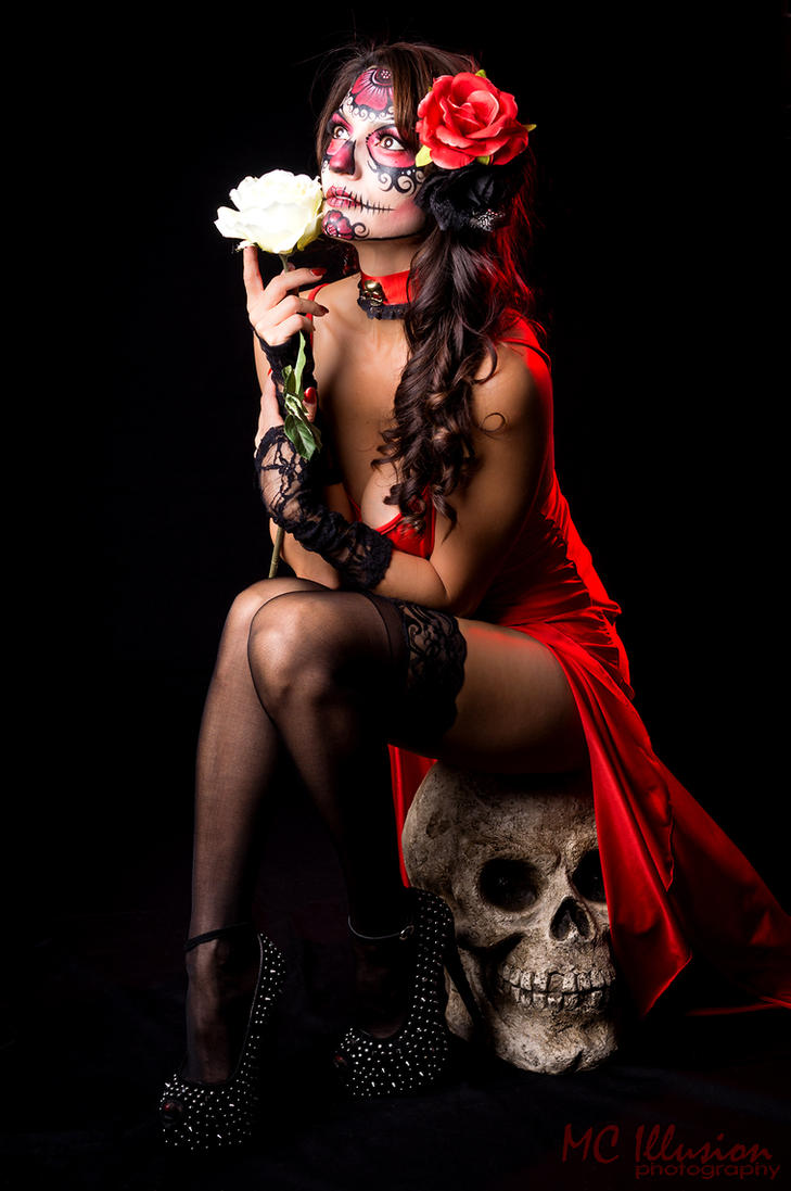 Sugar Skull by Ivy95