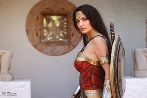 I am ready for battle. Wonder Woman
