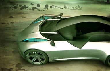 concept desing car xenon