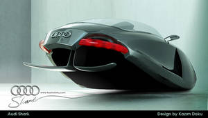 audi shark car design by kazimdoku
