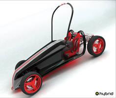 hybrid car by kazimdoku