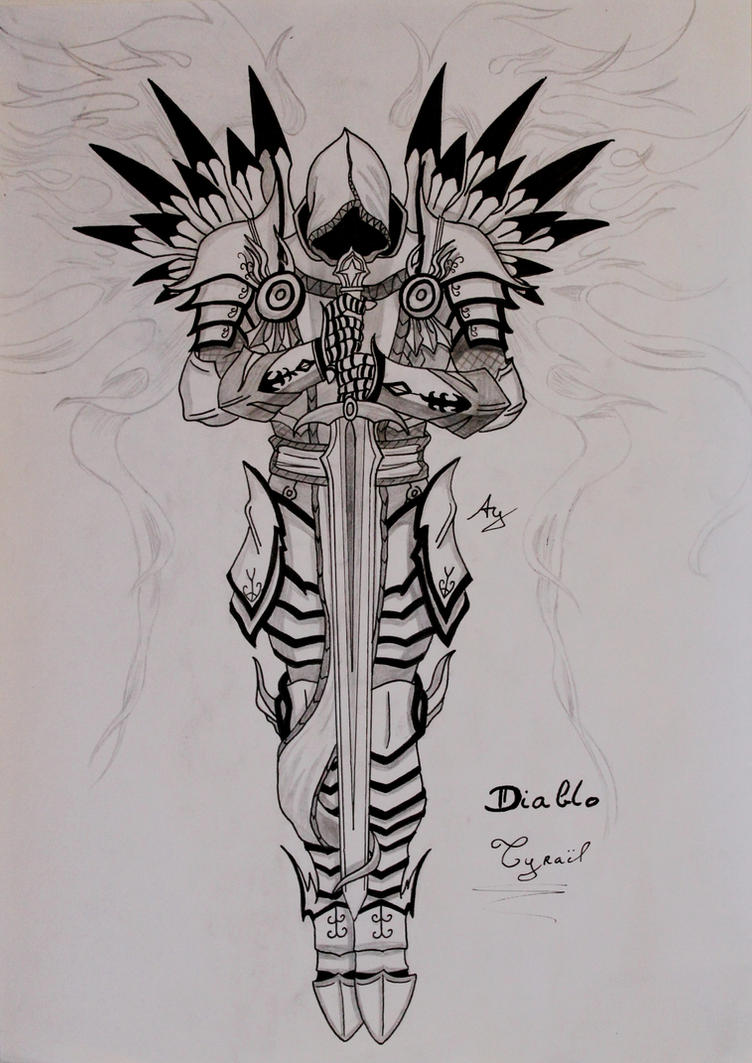 Diablo : Tyrael by AlienGirl34