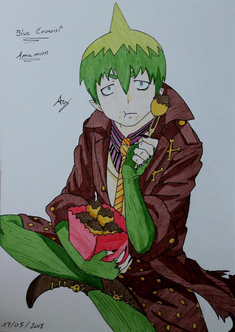 Ao No Exorcist : Amaimon by AlienGirl34