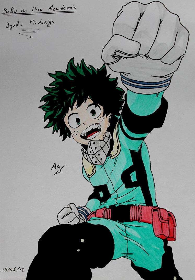 Boku no Hero Academia : Izuku Midoriya by AlienGirl34