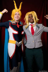 Cosplay : All Might (Young Age / Student) by AlienGirl34