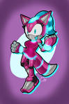 Sonic-style Peppy Kate