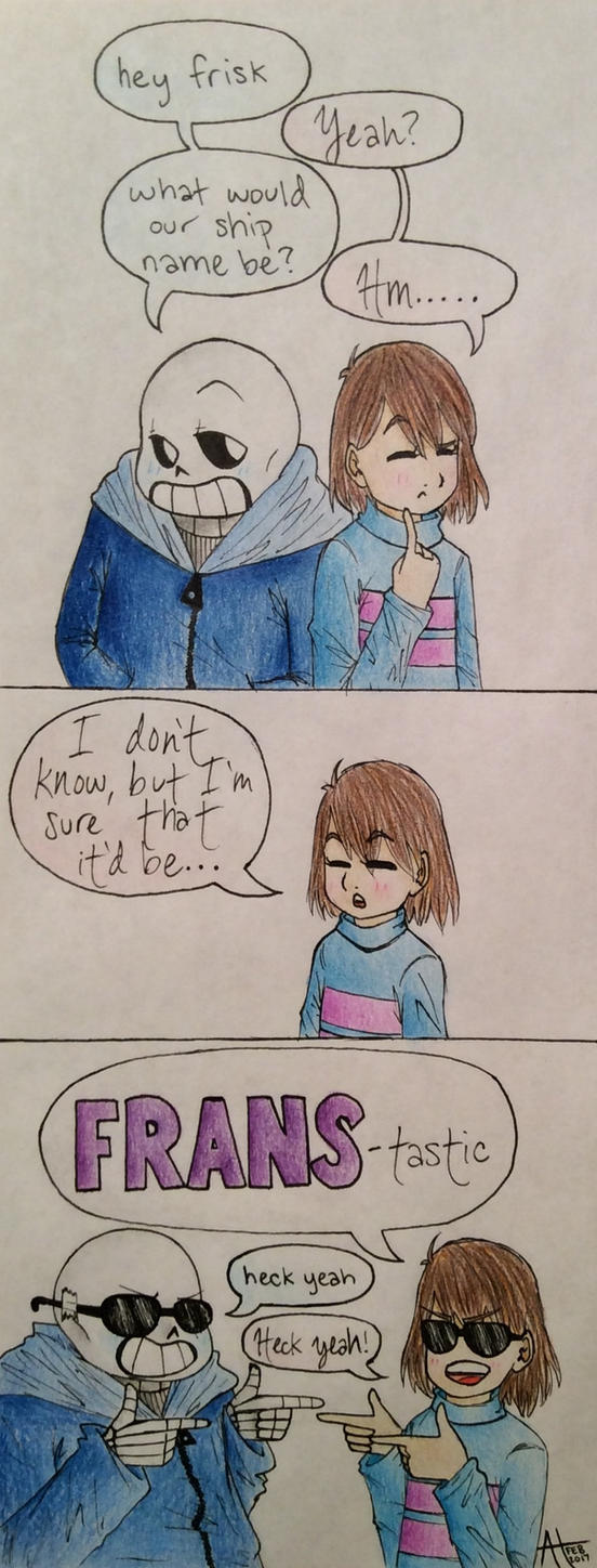 Frans Comic by pandahandsome
