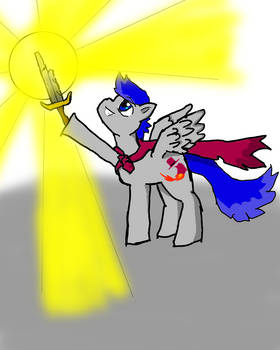Silver Lining, the Pegasus Magician
