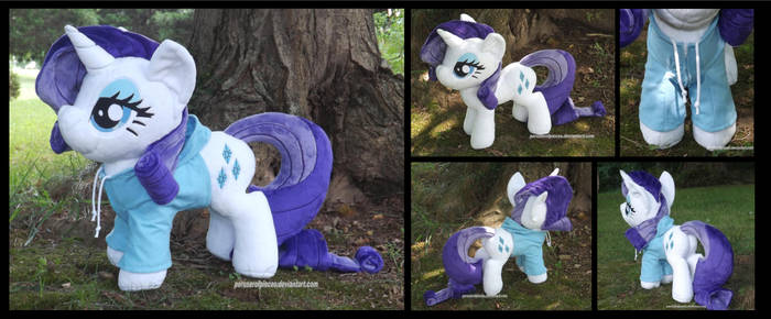 Floppy Rarity with Hoodie by Peruserofpieces