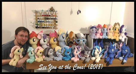 See You at the Cons! (2018) by Peruserofpieces