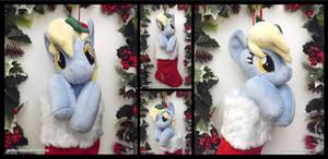 Derpy Christmas Stocking