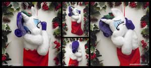 Rarity Christmas Stocking