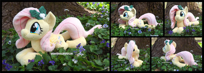 Fluttershy in the Violets