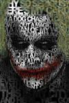 The Joker Quotes Poster Heath Ledger