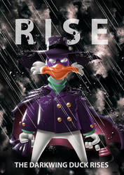 The Darkwing Duck Rises by Bobbykamikaze