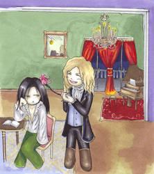 Lestat the Hairdresser by Zodiac-Salad
