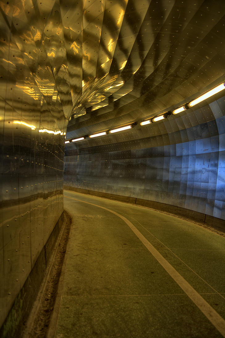 Tunnel Vision IV by HenrikSundholm