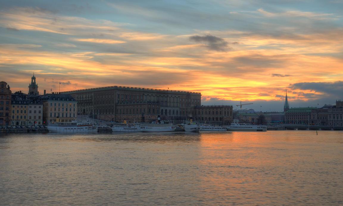 An Evening on Skeppsholmen III by HenrikSundholm