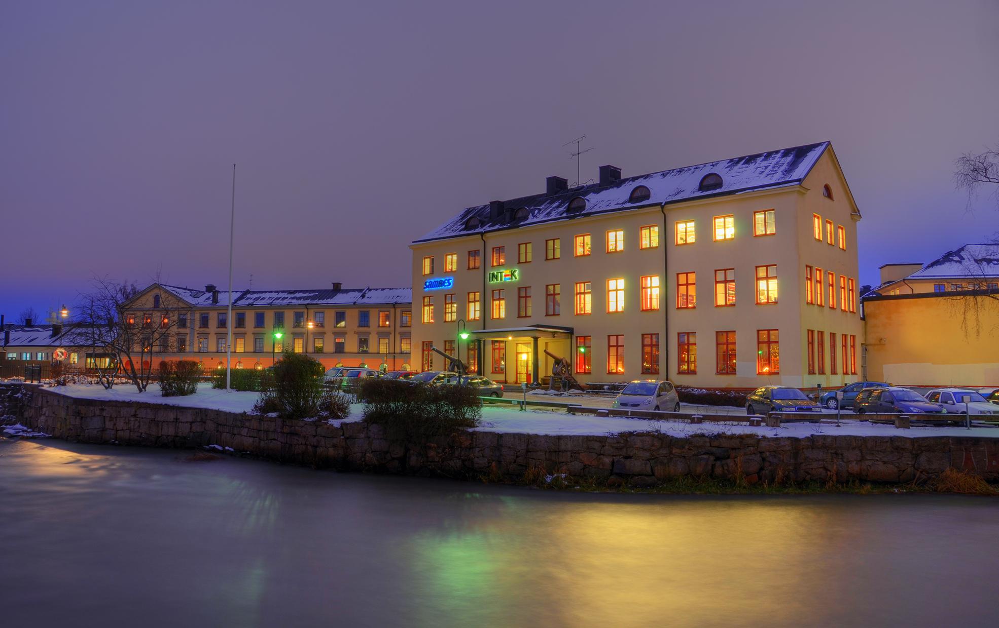 A Violet Stream II by HenrikSundholm