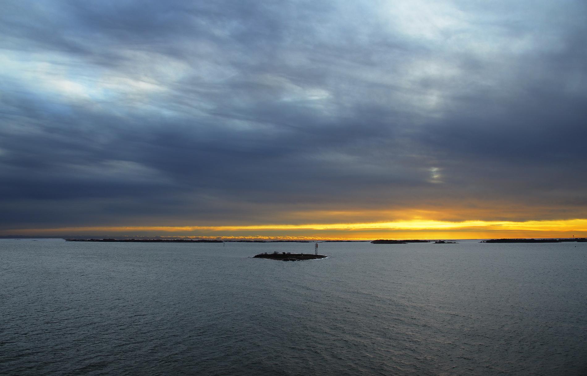 Baltic Sea at Sunset by HenrikSundholm