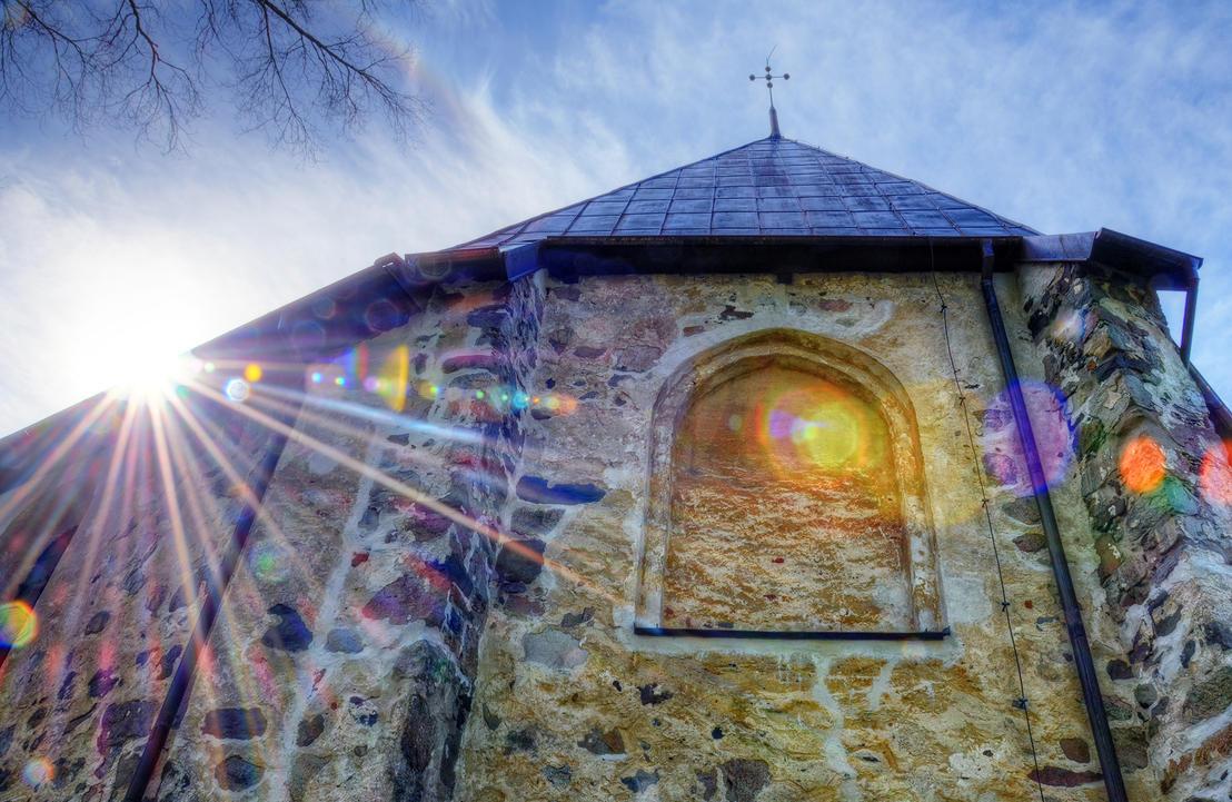 Sunstar of Nicolai Church by HenrikSundholm