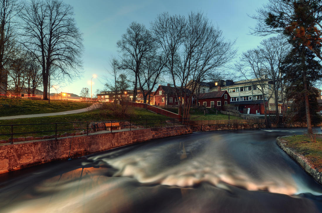 Pastoral River by HenrikSundholm