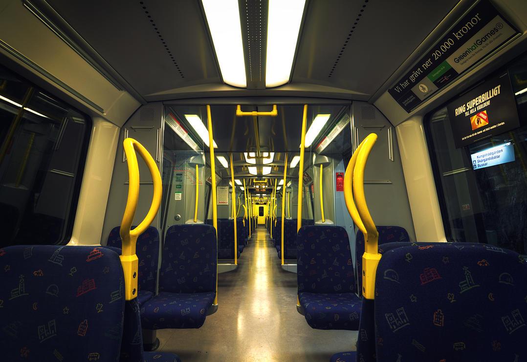 Subway Cart by HenrikSundholm