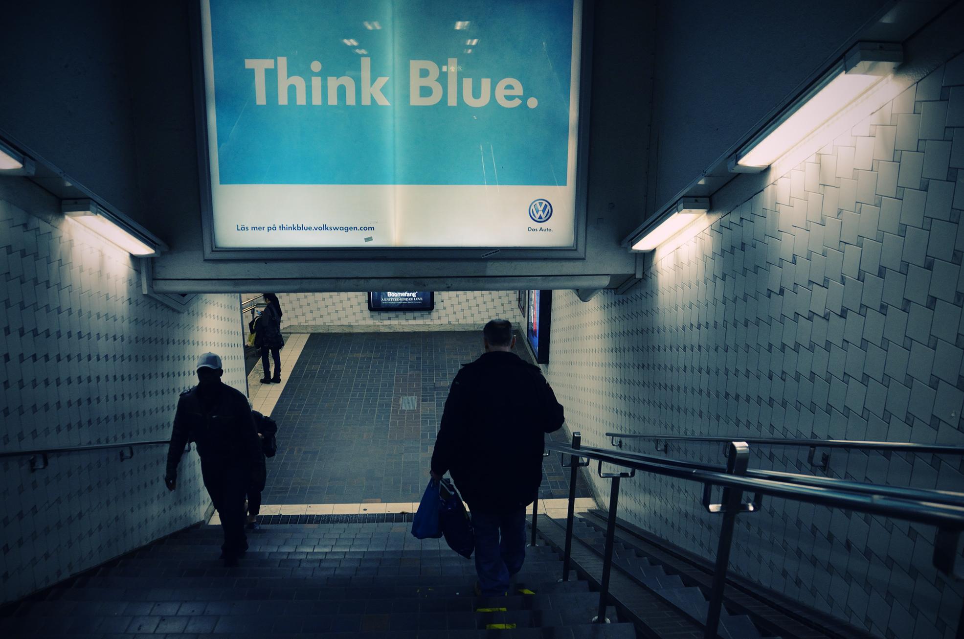 Think Blue. by HenrikSundholm