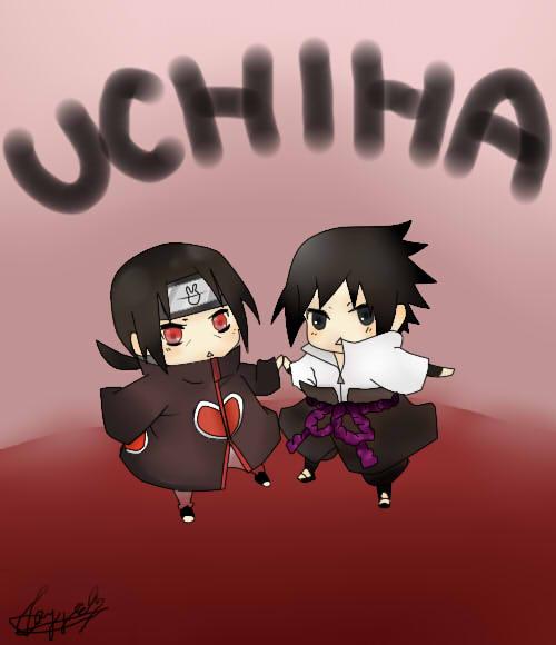 Sasuke and Itachi Chibi by SasuNaruRocks10001 on DeviantArt