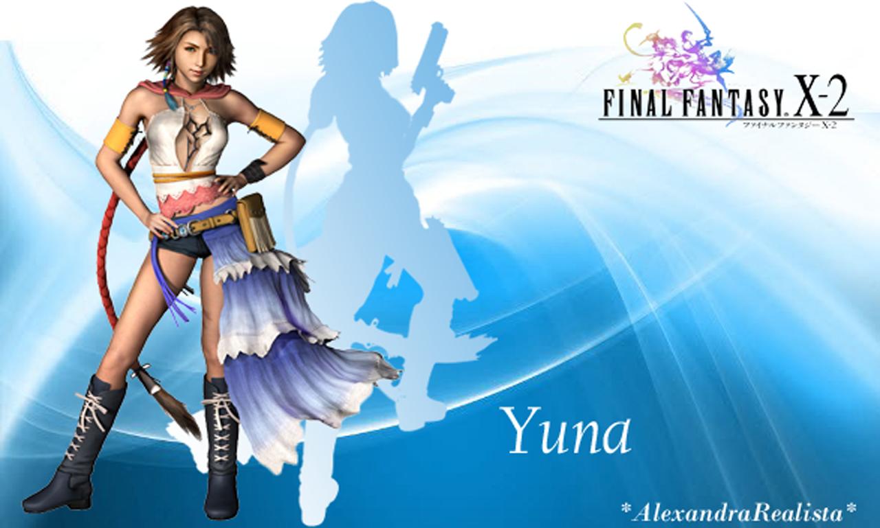 Final Fantasy X 2 Yuna Wallpaper By Xanasakura On Deviantart