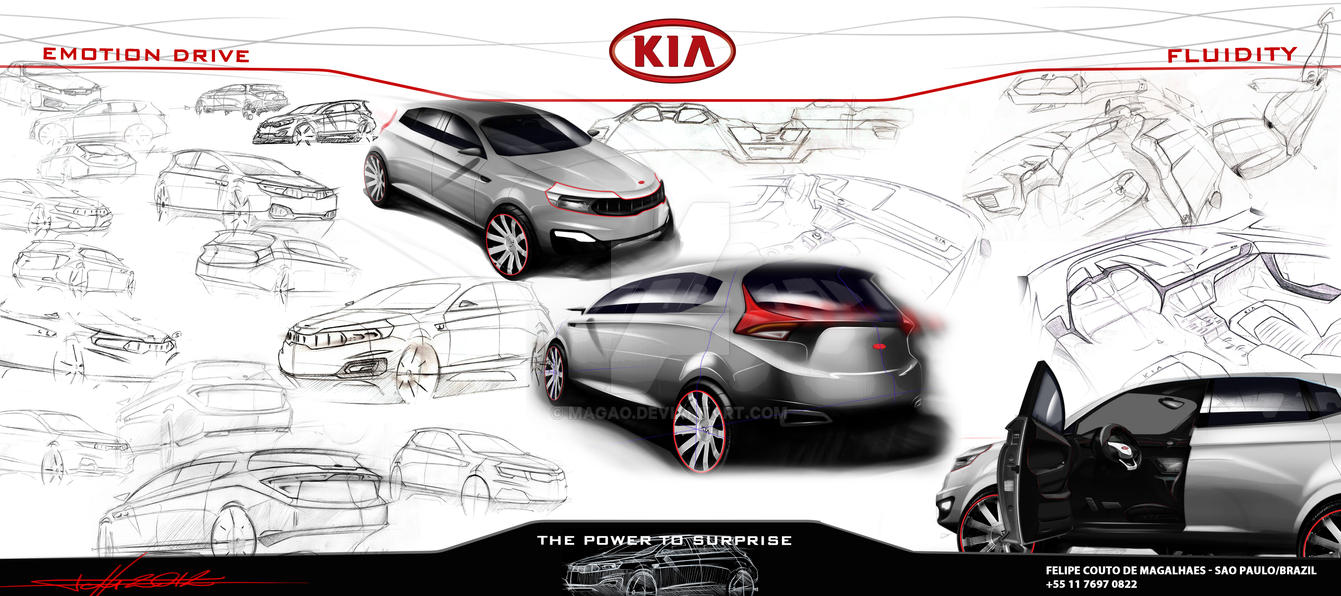Kia MOHAVE board by magao