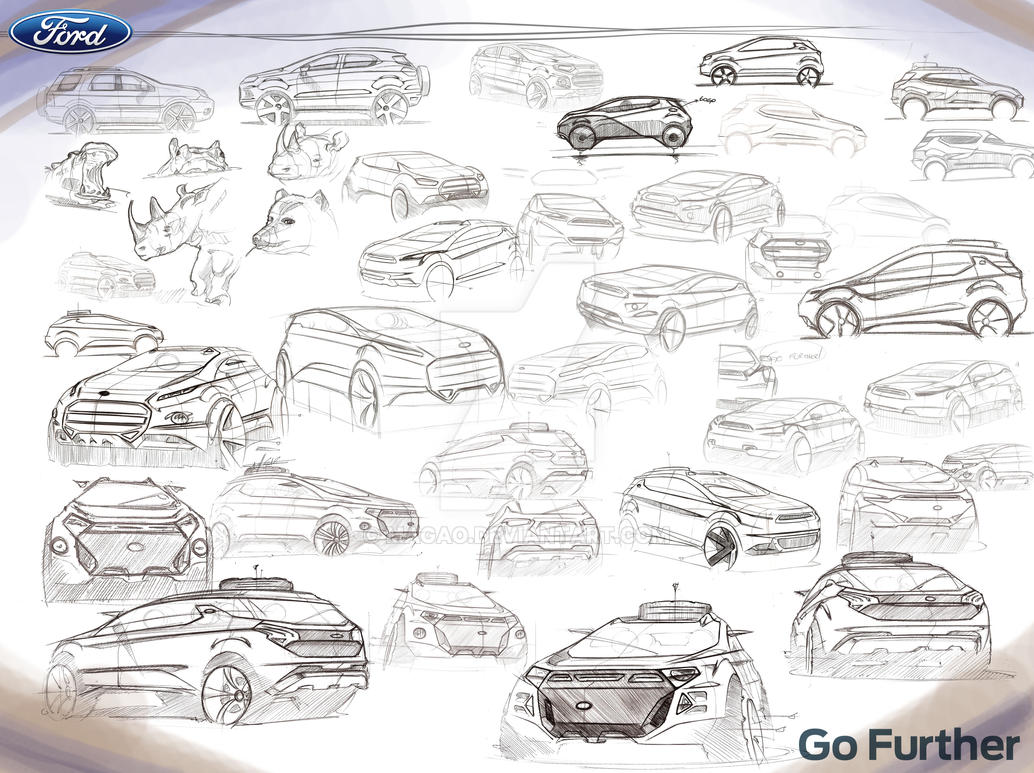 Ecosport Sketch board by magao
