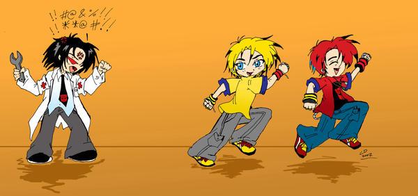 Mischief Makers by Hotaru-oz