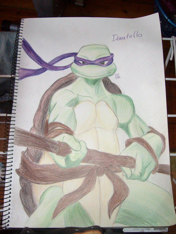 Donatello sketch by Hotaru-oz