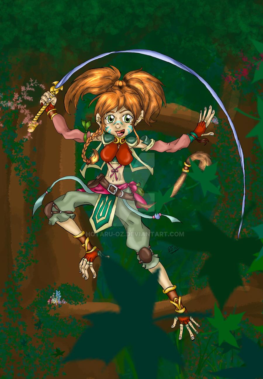 Vivyan the Acrobat by Hotaru-oz