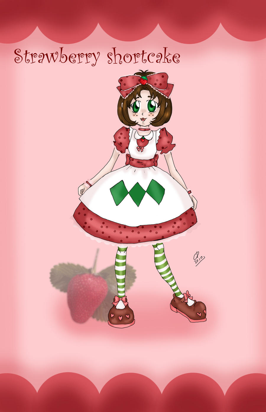 Strawberry shortcake by Hotaru-oz
