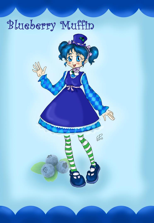 Blueberry Muffin by Hotaru-oz