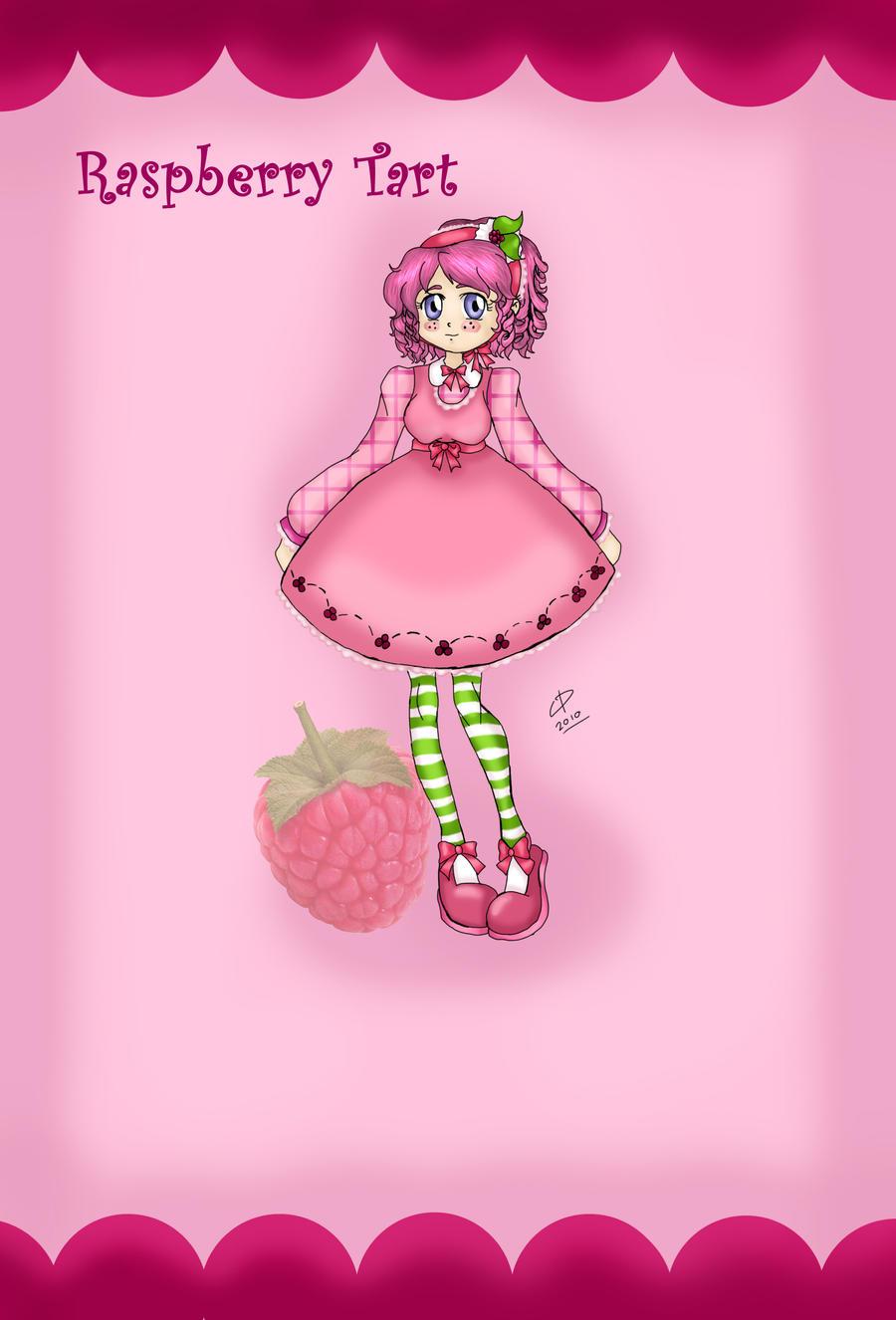 Raspberry Tart by Hotaru-oz