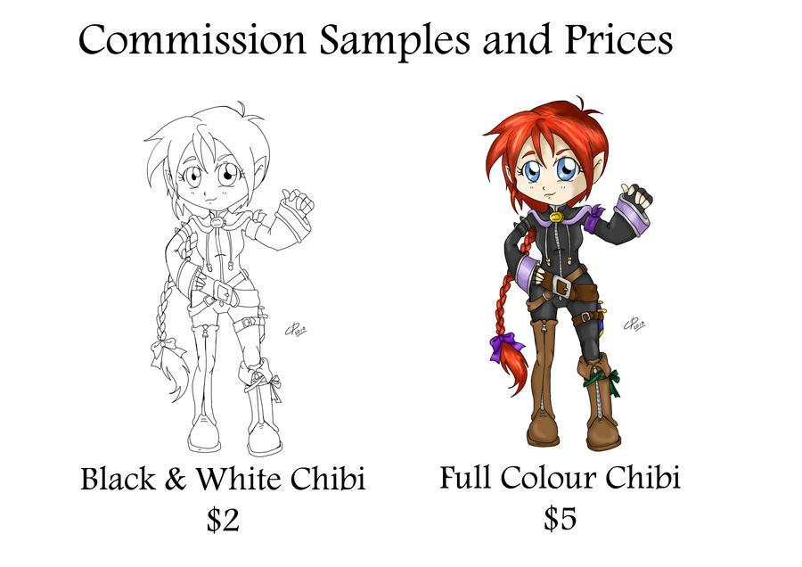 Chibi Commissions by Hotaru-oz