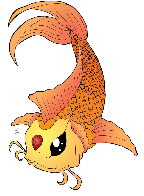 Koi fish tattoo by Hotaru-oz